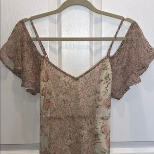 BOHO CHIC! Band of Gypsies floral dress